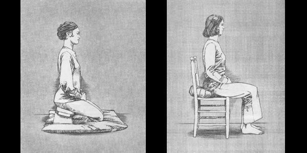posture de zazen